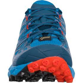 La Sportiva Akyra GTX Running Shoes Herre neptune/poppy